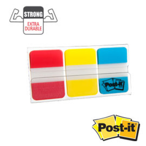 (12) Dispenser 66 POST-IT INDEX STRONG 686-RYB 25X38MM COLORI CLASSICI