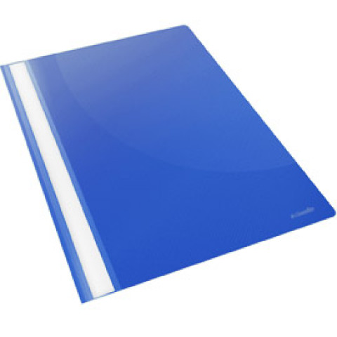 (25) CARTELLINA PPL CON FERMAFOGLI 21X29,7 BLU REPORT FILE ESSELTE
