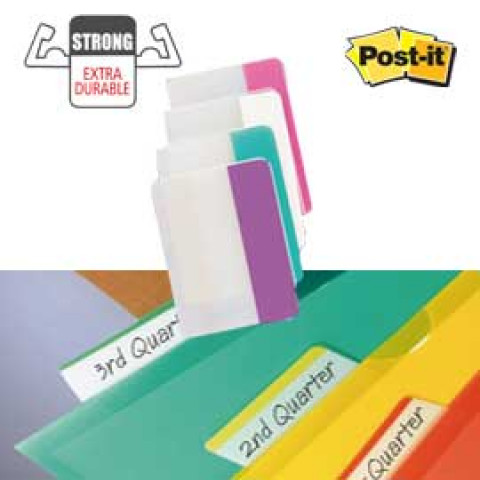 (6) BLISTER 24 POST-IT INDEX STRONG 686-PWAV 50,8X38MM X ARCHIVIO