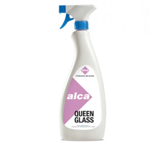 (12) DETERGENTE VETRI Queen Glass 750ml Alca