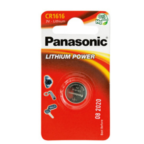 (12) BLISTER Micropila litio CR1616 PANASONIC