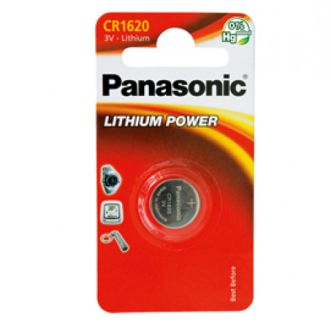 (12) BLISTER Micropila litio CR1620 PANASONIC