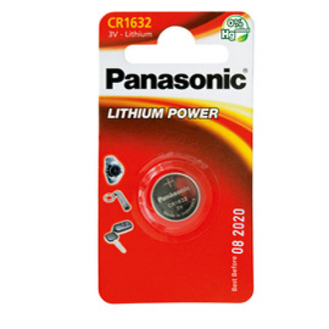 (12) BLISTER Micropila litio CR1632 PANASONIC