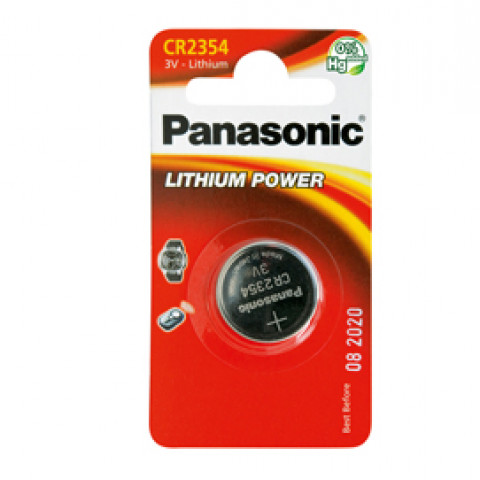 (10) BLISTER Micropila litio CR2354 PANASONIC