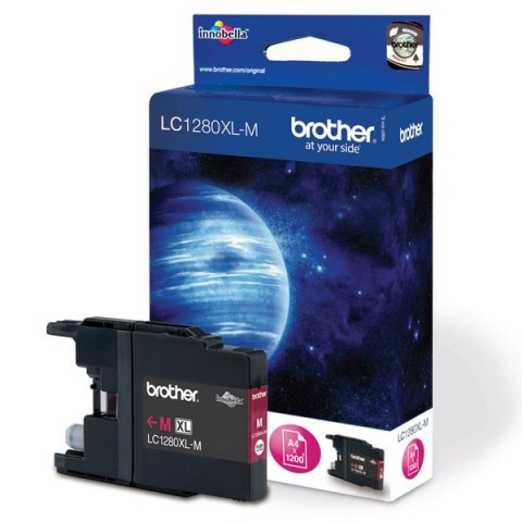 Originale Brother inkjet cartuccia A.R. 1280 - magenta - LC-1280XLM