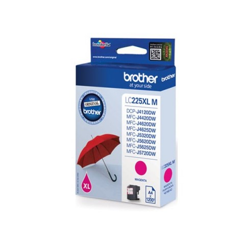 Originale Brother inkjet cartuccia A.R. LC-225 - magenta - LC-225XLM