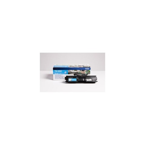 Originale Brother laser toner A.R. 327 - ciano - TN-326C