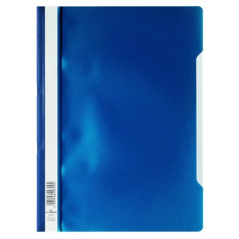 Cartellina ad aghi Clear View Durable - A4 PPL - blu - 2573-07 (conf.50)