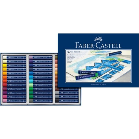 Oil Pastel Creative Studio Faber Castell - assortiti - 127036 (conf.36)
