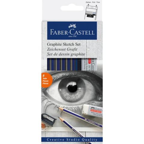 Goldfaber Graphite Sketch Set Faber Castell - grafite - 114000 (conf.6)