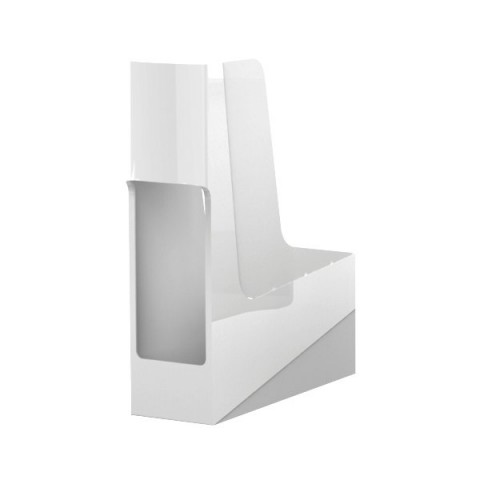Portariviste Green2Desk Fellowes - bianco - 9x30x25,8 cm - 0017101