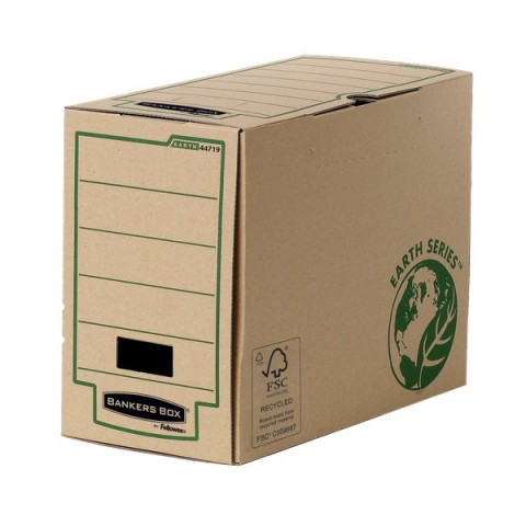 Contenitore Archivio Legal Dorso 15 cm Bankers Box Earth Series Fellowes - 4471901 (Conf.20)