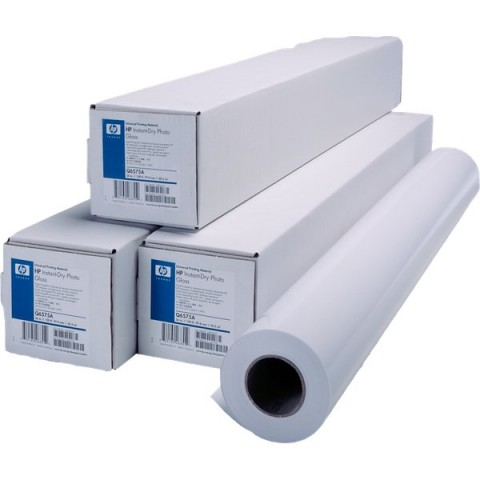 Carta plotter HP  - inkjet - bright white - 61 cm - 45,7 m - 90 g/mq - C6035A