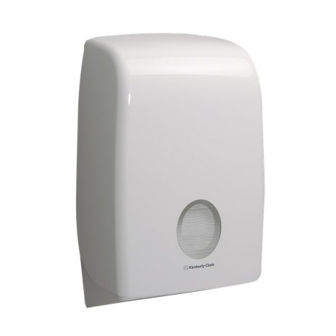 Dispenser Aquarius Kimberly Clark per Asciugamani intercalati - 39,9x13,6x26,5 cm - 6945