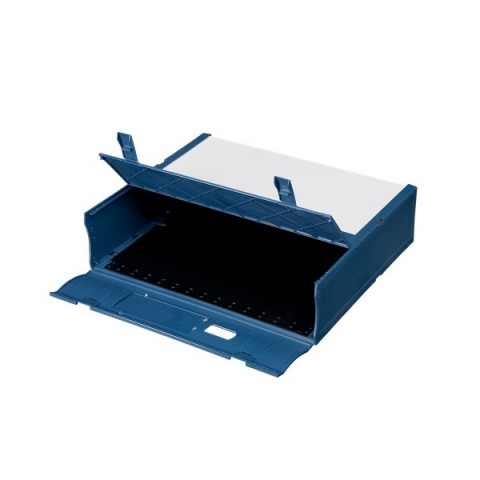 Scatola Archivio Combi Box E600 Fellowes - Dorso 9 mm - blu navy - E600BN